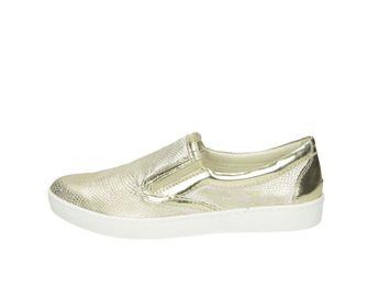 Olivia shoes dámske slip-on tenisky - zlaté