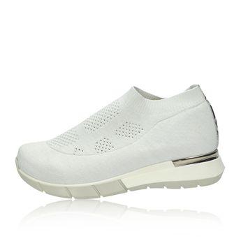 d41a0cf389b0 Olivia shoes dámske textilné tenisky - biele