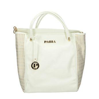 Pabia dámska kabelka - biela