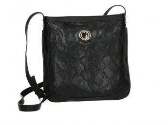 Pabia dámska kabelka - čierna
