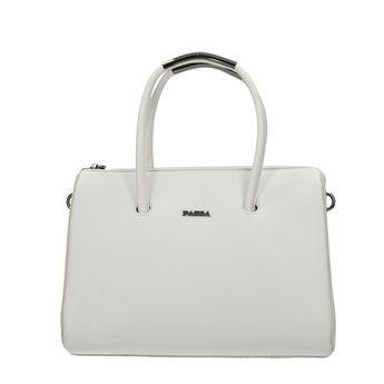 Pabia dámska štýlová kabelka - biela 0b41e7d442a