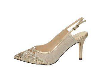 Pacomena dámske sandále - gold