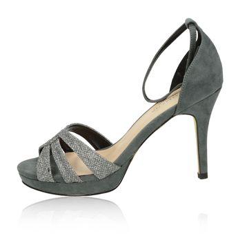 Pacomena dámske sandále - šedé