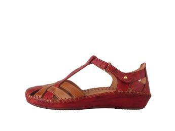 Pikolinos dámske sandále - bordové