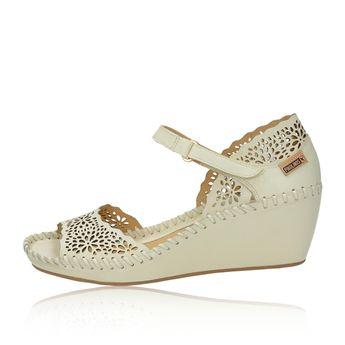 1d723403ef12 Pikolinos dámske kožené sandále - béžové Pikolinos dámske kožené sandále -  béžové
