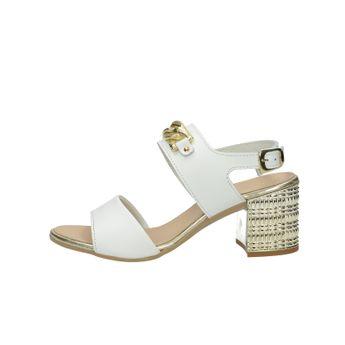 Prativerdi dámske elegantné sandále - biele