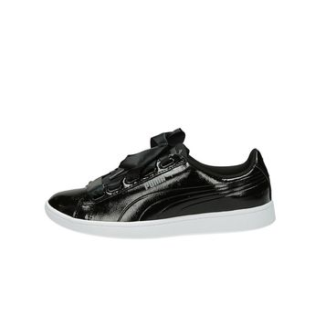 Puma dámske lakované tenisky - čierne