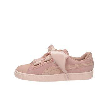 Puma dámske semišové tenisky - ružové