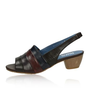 cca35d5964 Regarde le ciel dámske kožené sandále - viacfarebné