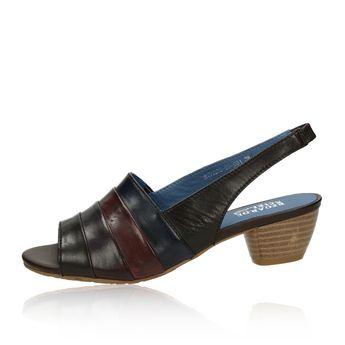Regarde le ciel dámske kožené sandále - viacfarebné