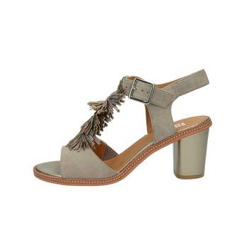 Regarde le ciel dámske semišové sandále - béžová