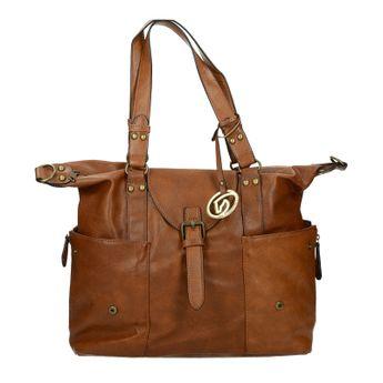 Remonte dámska praktická kabelka - hnedá