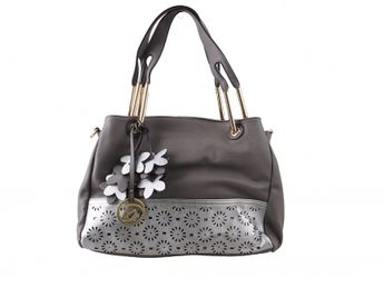 Remonte dámska kabelka s kvetmi - šedá