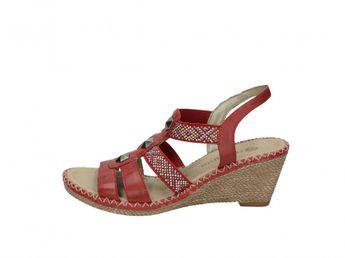 Remonte dámske sandále - hnedé