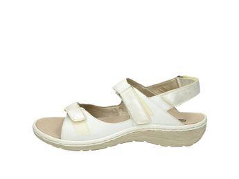 Remonte dámske sandále - biele