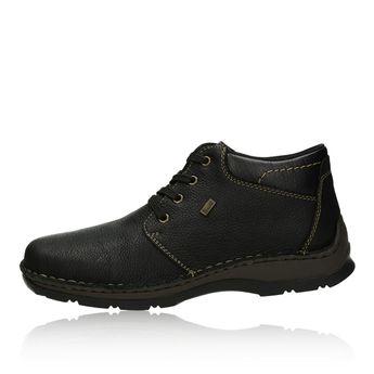 Rieker pánske zimné topánky - čierne