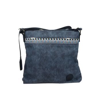 Rieker dámska crossbody kabelka - modrá