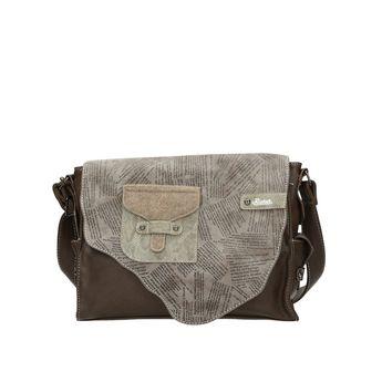Rieker dámska praktická kabelka - hnedá
