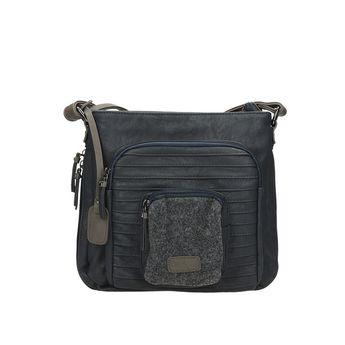 Rieker dámska praktická kabelka - modrá
