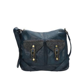 Rieker dámska praktická kabelka - modrá 84161858203