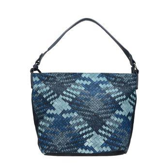 Rieker dámska praktická štýlová kabelka - modrá