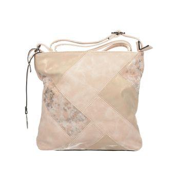 Rieker dámska štýlová crossbody kabelka - ružová