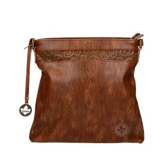 Rieker dámska štýlová kabelka - hnedá