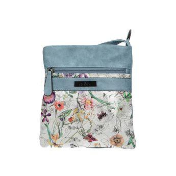 Rieker dámska štýlová kabelka s kvetovým motívom