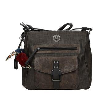 Rieker dámska štýlová kabelka - šedá