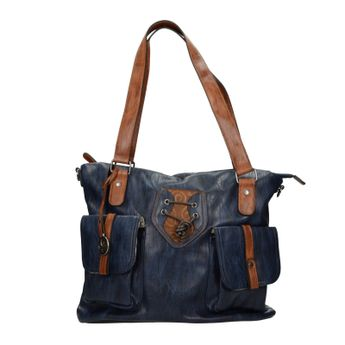 Rieker dámska štýlová kabelka - tmavomodrá