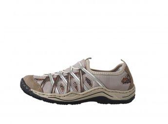 Rieker dámska trekingová obuv - béžová Rieker dámska trekingová obuv -  béžová 814ae966801