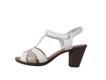 bb21ad0302 Rieker dámske sandále - biele Rieker dámske sandále - biele