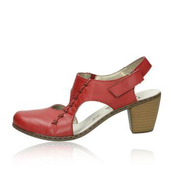 Rieker dámske sandále - červené