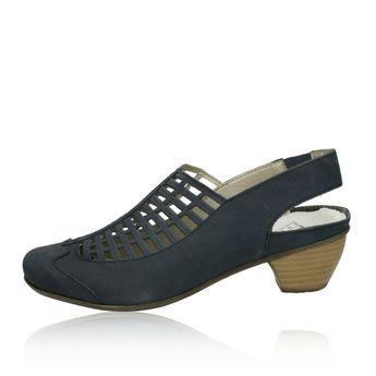 Rieker dámske sandále - modré