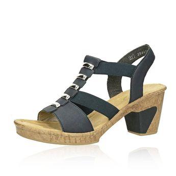 4095c56d1f9e Rieker dámske sandále - modré