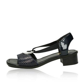 Rieker dámske štýlové sandále - čierne