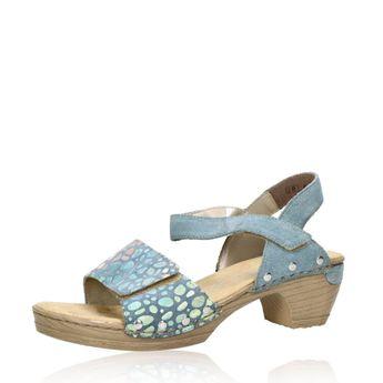 Rieker dámske štýlové sandále - modré