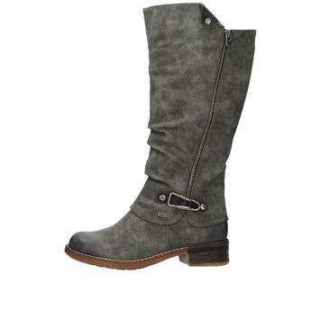 Rieker dámske štýlové vysoké čižmy - šedé 5e0220a37dc