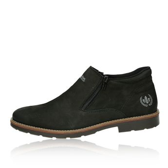 Pánska pohodná členková obuv - čierna