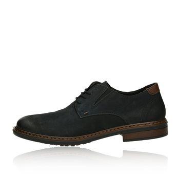 Pánske nubukové spoločenské topánky - čierne