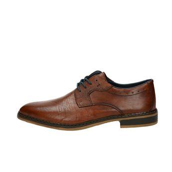 Rieker pánske spoločenské topánky - koňakové c899275493c