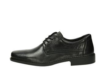 Rieker pánske spoločenské topánky - čierne