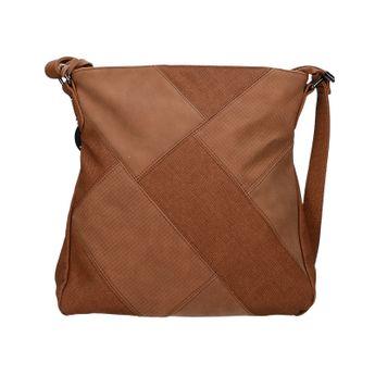 Robel dámska crossbody kabelka - hnedá