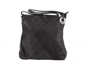 Robel dámska kombinovaná crossbody kabelka - šedá