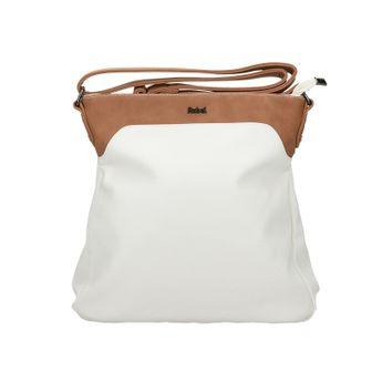 Robel dámska štýlová crossbody kabelka - biela