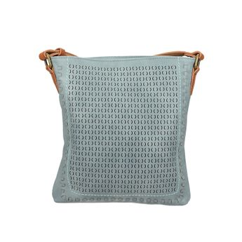 Robel dámska štýlová crossbody kabelka - modrá