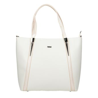 Robel dámska štýlová kabelka - biela