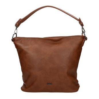Robel dámska štýlová kabelka - hnedá b774d4a23c0