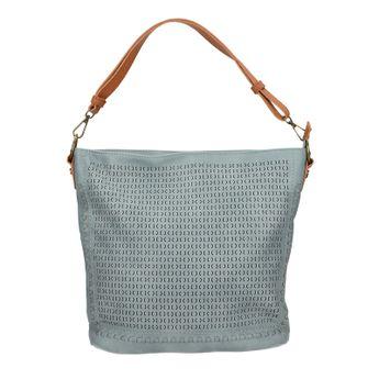 Robel dámska štýlová kabelka - modrá