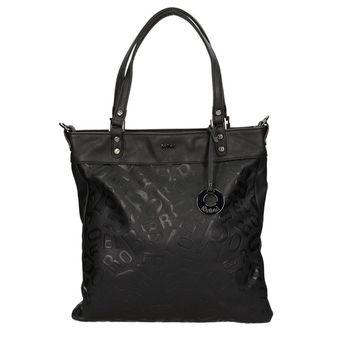 Robel dámska vzorovaná kabelka - čierna